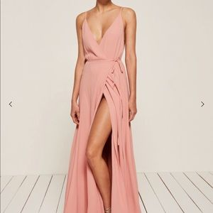 Reformation Calalily Dress in pink